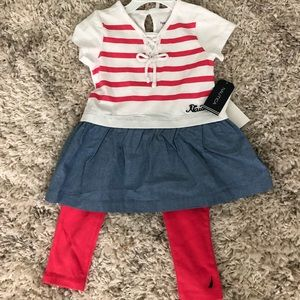 Toddler Nautica 2 piece outfit